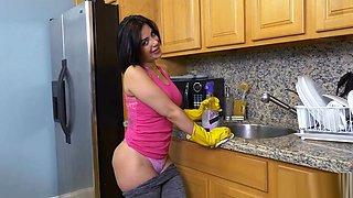 My Big Butt Latina Maid