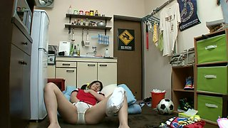 Horny Japanese whore in Exotic HD, Masturbation JAV movie