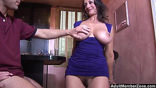 Busty brunette Persia Monir is the real master of memorable sex