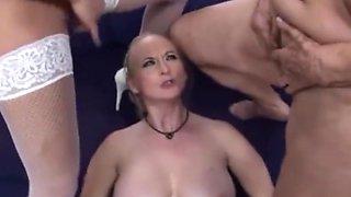 Sperm face grannies