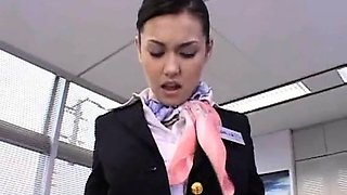 Naked school doll fucked hardcore in her hairy Asian slit