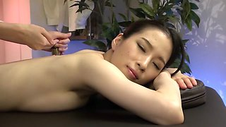 Fabulous Japanese model in Crazy Massage, HD JAV clip