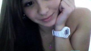 Asian Filipina girl show