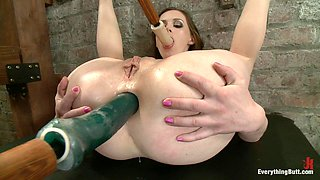 Sexy Babe's Fucked By Her Mistress Before Having An Enema