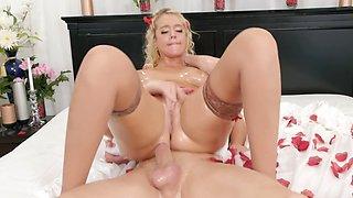 Athena Palomino has sensual sex with Markus Dupree