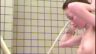 Bathing of the Japanese woman taken by a hidden camera 17