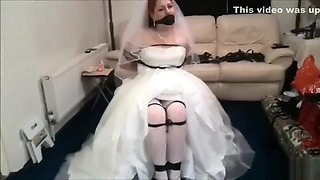 Bride gag in bondage