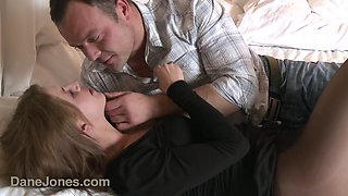 Young couple trying to get pregnant - creampie