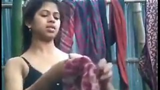 Hot indian babe after bath