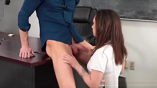 Sexy School Slut Lily Jordan Fucks Her Creepy Teacher
