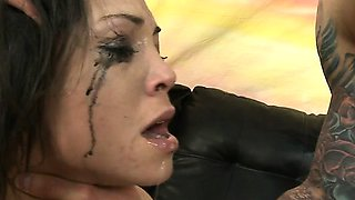 Petite Teen Gets Aggressive With Big Cock