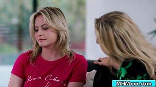 Boss Julia Ann seducing teen volunteer