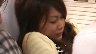 What is her name? chikan hot girl on bus then fuck in toilet