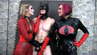 Batman chained and abused