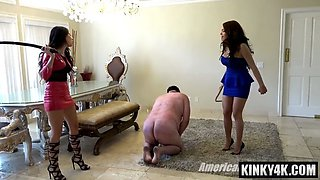 hot slave domination with cumshot video