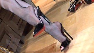 High heel boudoir