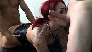 German hardcore redhead tattoo prostitute hooker