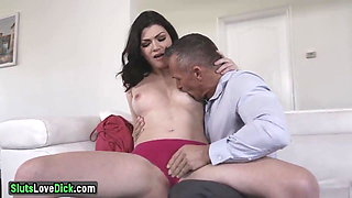 Naughty Housewife Fucks Her Husbands Boss