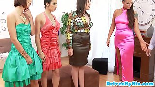 Glamour eurobabes suck and fuck bloke
