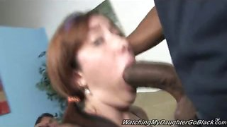 Little Teen vs Huge Black Dick!