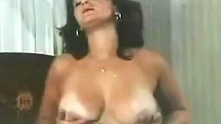 Swedish Retro Tanned busty mom
