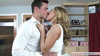 Blonde wife carter cruise wedding