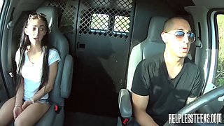 Innocent 18YO girl gets brutal choking and humiliation