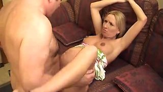 Bewitching Preggy lady drilled by an old chubby boyfrend