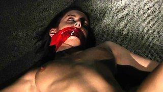 Slave teen punishment and hardcore bondage bdsm