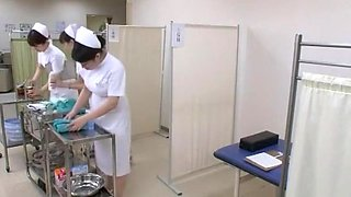 Fabulous Japanese model Yuri Aine, Yu Kawakami, Aya Sakuraba in Horny Nurse JAV video