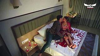wedding night, romantic couple sex video