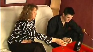 Over50 - Drunk Mom and Son