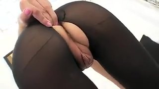 Horny Homemade video with Fetish, Stockings scenes