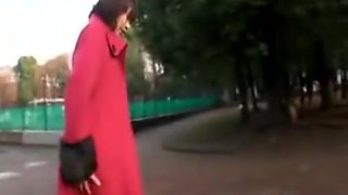 Pigtailed Asian Schoolgirl Relinquishes Her Body To Her Hor