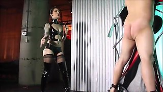 Cybill Troy - Hot cruel mistress whipping a slave