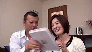 japanese wife at home