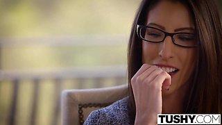 TUSHY Hot Babysitter Taylor Sands Enjoys Anal