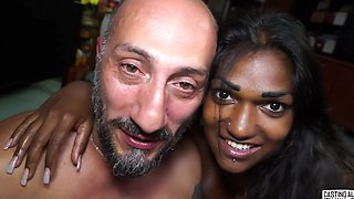 An Indian couple has a sweet intimate fuck