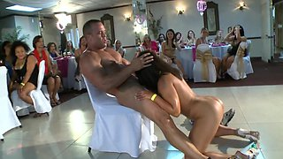 Crazy stripper sex with party girls that go completely wild