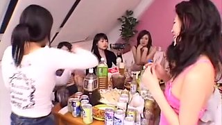 Fabulous Japanese whore Ouka Fujimiya in Crazy Group Sex, Lesbian JAV movie