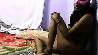 Dark Skin Sexy Indian College Girl Homemade