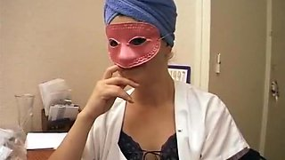 French girl masked sex fantasy