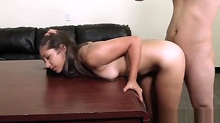 When Teens Are Bad l Cute East Indian Desi Teen Blowjob during Casting