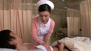Fabulous Japanese whore in Best Nurse, Blowjob JAV movie