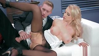 Office Horny Girl (Alix Lynx) With Big Melon Tits Enjoy Hard Bang mov-03