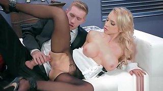 Office Horny Girl (Alix Lynx) With Big Melon Tits Enjoy Hard Bang mov-03