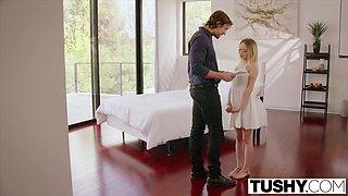 TUSHY Babysitter Seduction