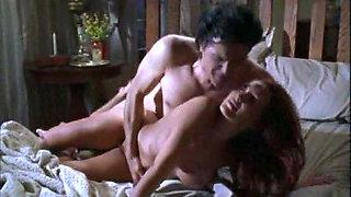 Lauren Hays has sex in the middle of the nigt in her bed