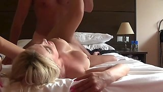 Please cum inside my Ass stepson- StepMom teach Son about sex