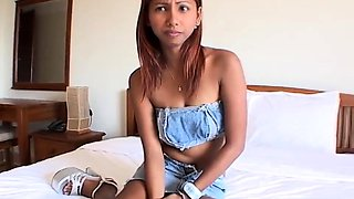 Asian mail-order-bride gets tested to see if her marrying